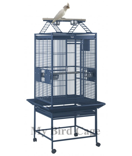 HQ Medium Playtop Parrot Cage 24x22