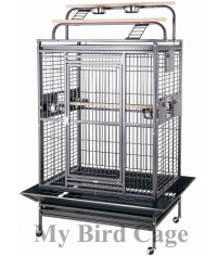 HQ Double Playtop Medium Cage 36x28